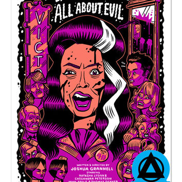 All About Evil Art Print (Limited Edition)