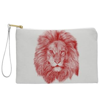 Eric Fan Red Leo Pouch