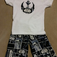 Star Wars Pants and T-Shirt - sizes 3T - 5T