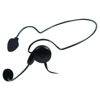 MIDLAND AVPH5 2-Way Radio Accessory (Behind-the-Head Headset with Microphone)