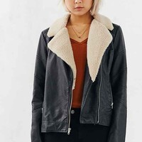 BB Dakota Gabriel Sherpa Trim Jacket