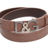 Logo leather belt DOLCE & GABBANA | Julian Fashion on line shop