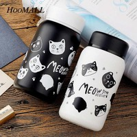 Hoomall Cartoon Cats Stainless Steel Thermos Vacuum Flask