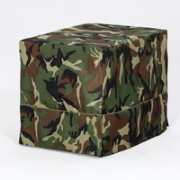 "Camo Green Crate Cover - Fits 30"" Crates"