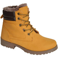 Petra Chukka Boots in Mustard Yellow