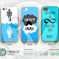 The Fault in Our Stars iPhone 5 Case,iPhone 5 5s 5c Hard Case,cover skin case for iphone 5/5s/5c case,More styles for you choose - JG05