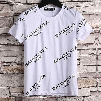 b2e54dcc8764 Boys & Men Balenciaga Fashion Casual Shirt Top Tee