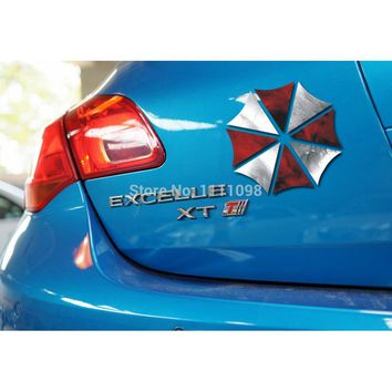 10 x Umbrella Car Stickers Ken Block  Car Reflective Decal for Toyota Ford Chevrolet  Volkswagen Honda Hyundai Kia Lada