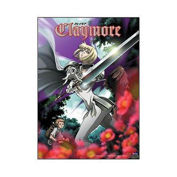 Claymore Sexy Clare in the forest GE5226 Anime Art Cloth Poster WALL SCROLL New