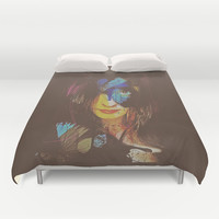 Chrysalis Duvet Cover by Galen Valle