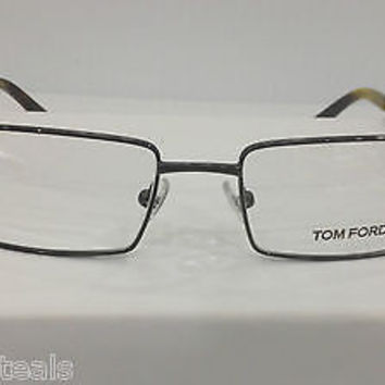 NEW AUTHENTIC TOM FORD TF5166 COL 036 BROWN METAL EYEGLASSES FRAME TF 5166