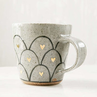 Pickle Pottery Heart Loop Mug - Urban Outfitters