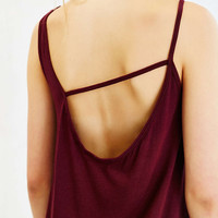 Truly Madly Deeply Asymmetrical-Back Midi Tee Dress - Urban Outfitters
