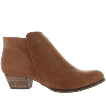 Chelsea Crew Dealer   Tan Bootie