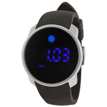 Movado Bold Digital Touch Screen Dual-Time Stainless Steel Mens Watch 3600146