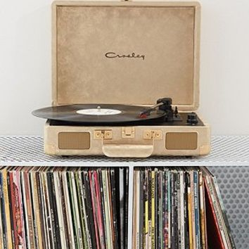 Crosley X UO Cruiser Gold Briefcase Portable Vinyl Record Player - Urban Outfitters