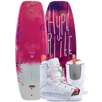Hyperlite Divine Young Girl's Wakeboard Package