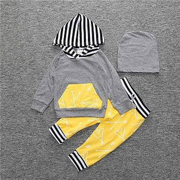Baby Teepee Hooded Set