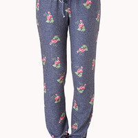 Cozy Floral PJ Sweatpants
