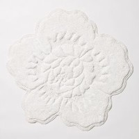 Castile Rose Bathmat by Anthropologie