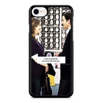 Grey S Anatomy Quote iPhone 8 Case