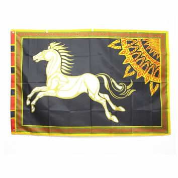 ROHAN Lord of the Rings Banner Horse Flag Elendil and His Heirs Party Supplies Large 96*144cm Halloween Decoration Gift Men Boy