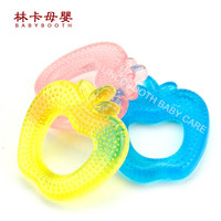 Cute For Apple/fish/duck/palm Eva Baby Teether Water Injection Soft Teeth Remedy Grind Teeth Machine Baby Mouth Care Products
