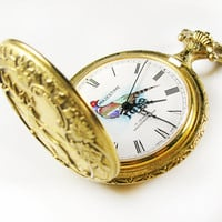 Vintage Majestime Pocket Watch / Swiss Made Pocket Watch / Working Condition - Montre à Gousset.