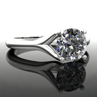 Forever Brilliant Moissanite Engagement Ring 2 CTW