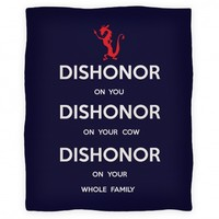 Dishonor Blanket
