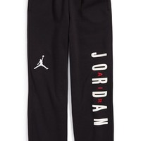 Boy's Jordan Fleece Sweatpants,
