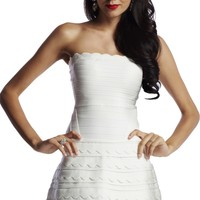 Off Shoulder Fashion Cocktail Bandage Dress