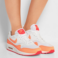 Nike | Air Max 1 Essential leather and mesh sneakers | NET-A-PORTER.COM