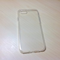 For Apple iphone 6 (4.7 inches) Transparent TPU Soft Silicone case - Clear