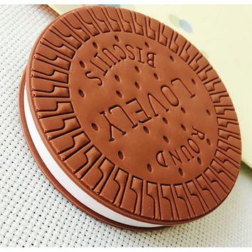 Kawaii Cute Stationery Convenient Notebook Chocolate Cookies Memo Pad Office School Gift Supplies Notepad