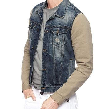 True Religion European Jimmy Western Mens Jacket - Super Blasted