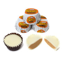 Reese's White Chocolate Peanut Butter Cups Miniatures: 12-Ounce Bag