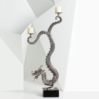 Natori Large Standing Dragon Candelabra - Home Décor - Categories - Home - Bloomingdale's