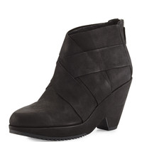 Dream Woven Ankle Bootie, Black - Eileen Fisher