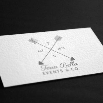 Pre-Made Arrow Wedding Boutique Homemade Party Events Planning Accessories Photography Jewelry Any Business Shop Logo