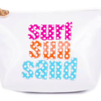 Surf and Sun Make-Up Pouch
