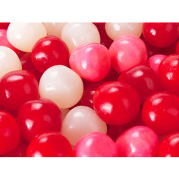 Valentine Fruit Sours Chewy Candy Balls: 5LB Bag