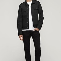 Rag & Bone - Archive Jean Jacket, Blk Selvage