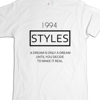 White T-Shirt | Fun One Direction Harry Styles Shirts