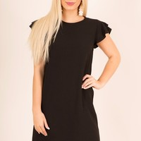 SASS AND CLASS DRESS - BLACK