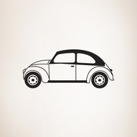 Vinyl Wall Decal Sticker Punch Buggy #OS_MG224