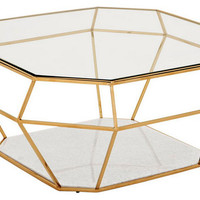 Eichholtz Coffee Table Asscher - Transitional - Coffee Tables - by Oroa - Eichholtz Furniture