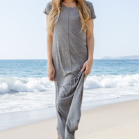Tori Praver Swimwear - Athena Dress | Heather Gray
