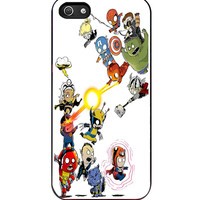 MARVEL HEROES Avengers Iron Man Hulk Captain iPhone 5s For iPhone 5/5S Case