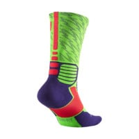 Nike KD Hyper Elite Crew Basketball Socks Size Large (Green)
